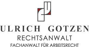 Logo von Rechtsanwalt Ulrich Gotzen in Saarlouis